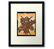Daxter and Jak Framed Print