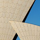 Sydney Opera House Abstract Composition 2 by luvdusty