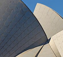 Sydney Opera House Abstract Composition 3 by luvdusty