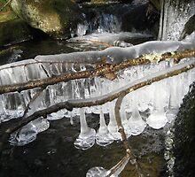 Mountain Stream Ice 4 by maxy