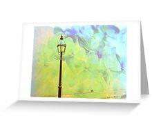 Romantic Lights Greeting Card