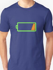 Low battery geek funny nerd T-Shirt