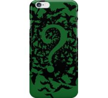 The Riddler tee iPhone Case/Skin