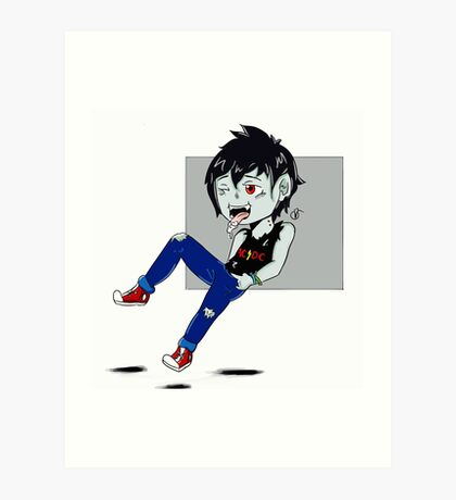 Marshall Lee - AC/DC Art Print