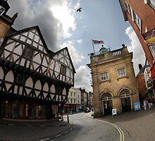 King Street and the Butter Market by DavidKennard