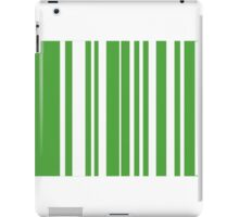 Home Hoops Green and White iPad Case/Skin