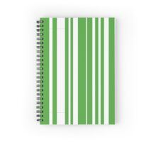 Home Hoops Green and White Spiral Notebook