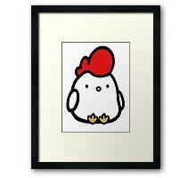 Cute Chicken Framed Print