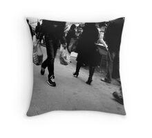 Rue Daguerre (4) - Paris 14ème - Throw Pillow