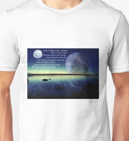 Mr Moon Unisex T-Shirt