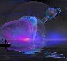 Blue Sunset by Igor Zenin