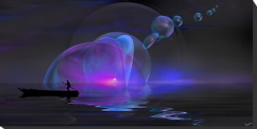 Blue Sunset by Igor Zenin