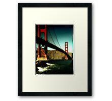 Golden Gate Edge Framed Print