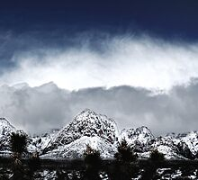 Red Rock Snow, Panoramic No. 4 by Benjamin Padgett