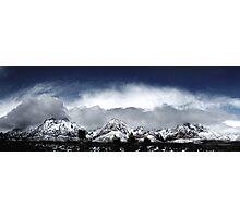 Red Rock Snow, Panoramic No. 4 Photographic Print