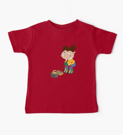Winter Sports: Curling Baby Tee