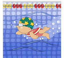 Olympic Sports: Swimming Photographic Print
