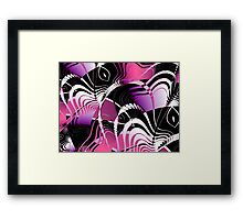 Abstract Lies Framed Print