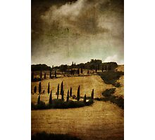 *Val d'orcia* Photographic Print