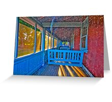 Hubbell Trading Post House Greeting Card