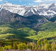 Telluride Sunset on a Rainy Day by SeanCH