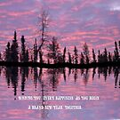 Anniversary Card...sky reflections by MaeBelle