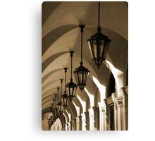 San Marco Arcade Canvas Print