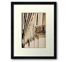 San Marco Colonnade Framed Print