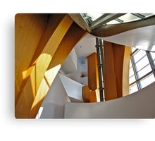 Walt Disney Concert Hall Entrance Foyer Canvas Print