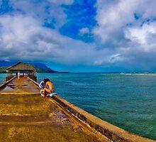 Hanalei Pier by lckt13