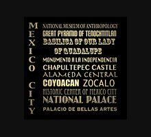 Mexico City Famous Landmarks Unisex T-Shirt