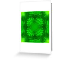 Leaves Fleur Greeting Card