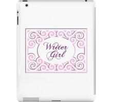 Writer Girl iPad Case/Skin