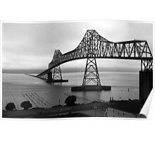 Astoria-Megler Bridge - Oregon Poster