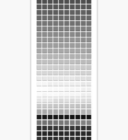 Horizon - Black & White Sticker