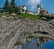 Pemaquid Point Lighthouse- Bristol, ME by Jason Gendron