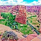 Canyon de Chelly Split by lckt13