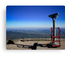 View From the Top- Mount Washington, NH Canvas Print