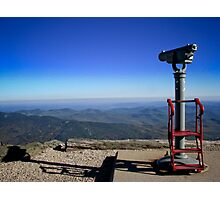 View From the Top- Mount Washington, NH Photographic Print