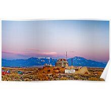 Earth Ship Visitors Center Taos Mesa Poster