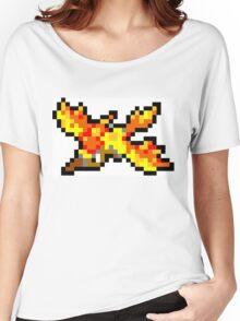 Pokemon 8-Bit Pixel Moltres 146 Women's Relaxed Fit T-Shirt