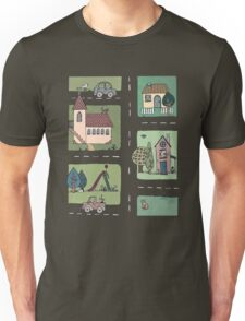 An Even Quieter Afternoon in Town Unisex T-Shirt