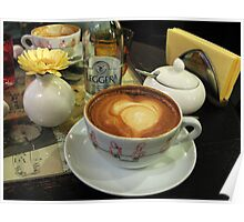 Afternoon Coffee Poster