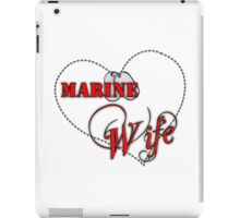 Marine Wife iPad Case/Skin