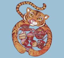 The Tiger Who Came To Tee Kids Tee