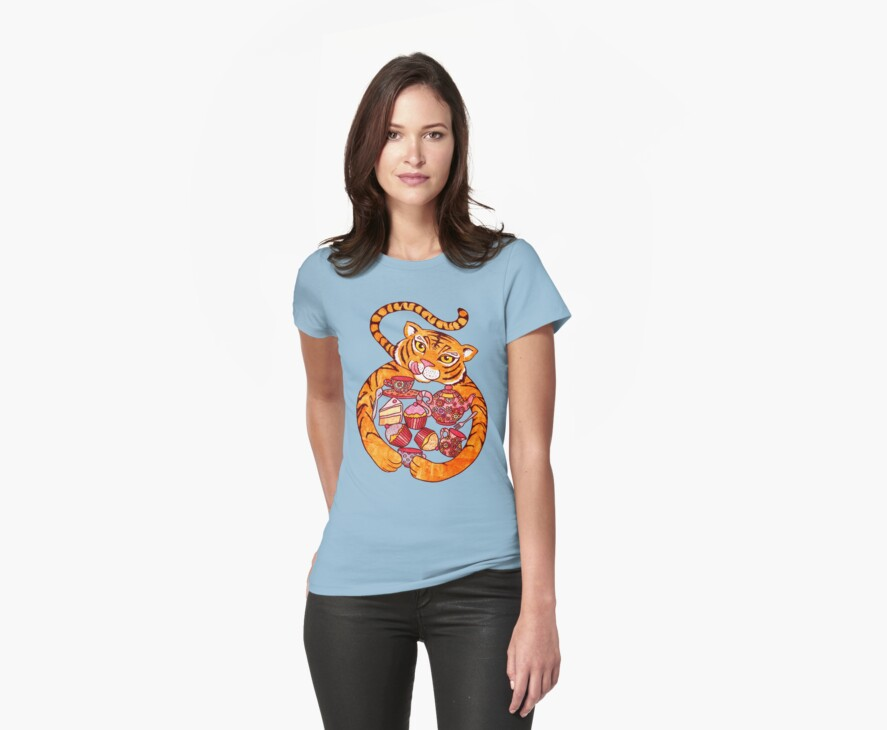 The Tiger Who Came To Tee by micklyn