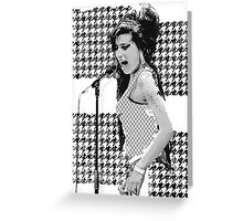 Amy Winehouse in London Greeting Card