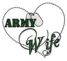 Army Wife Photographic Print