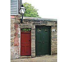 Two doors Photographic Print