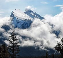 Canada's Mount Rundle by Dyle Warren